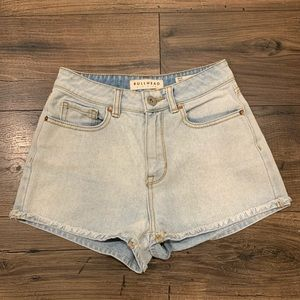 Bullhead Pacsun Denim Mom Short Size 1
